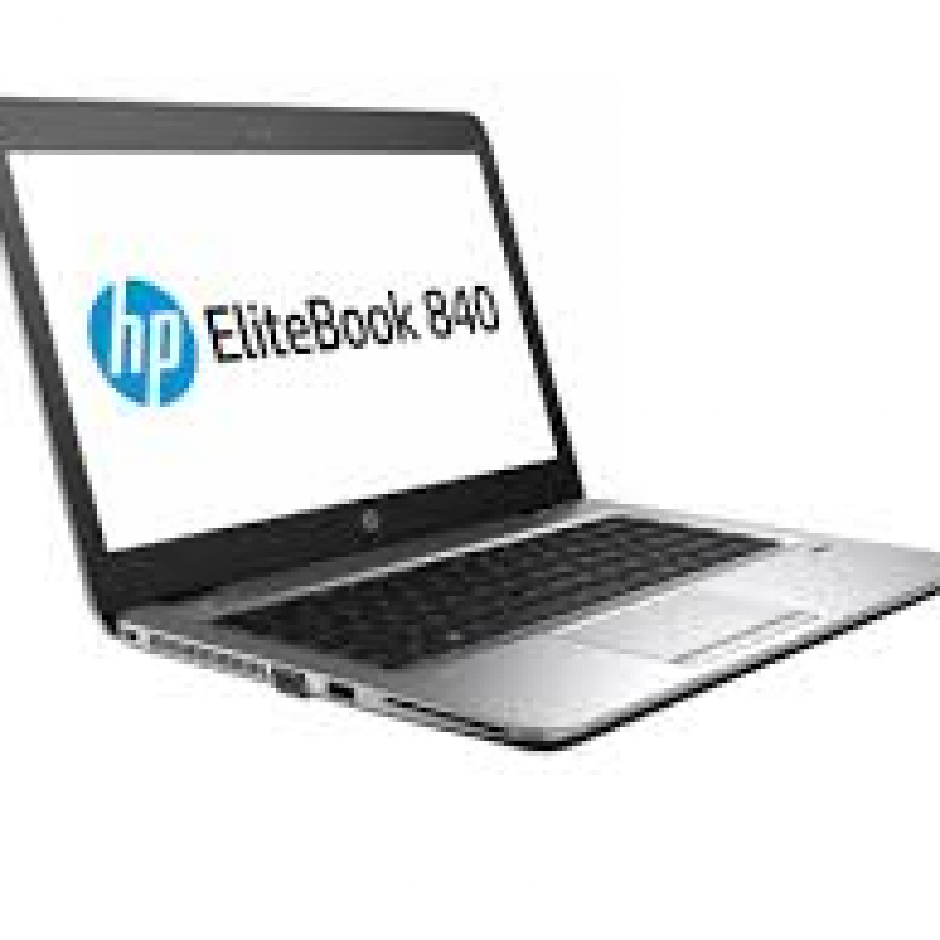 4. HP Elitebook 840 G3 , 14″ 2560×1440 , Intel i7-6500U , 8GB , 256 GB SSD  , Takuu 12 kk