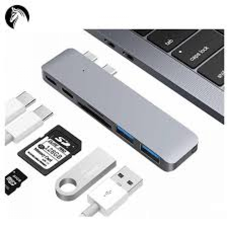 Alumiininen C- Tyypin 4k  Hub Macbook Pro 13″ :lle Thunderbolt